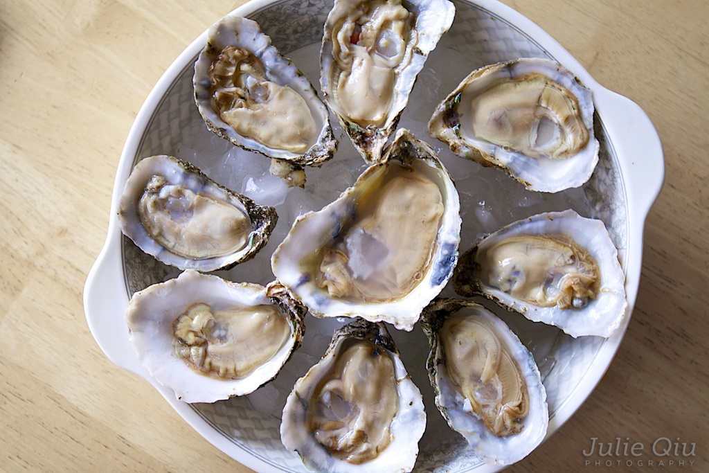 York River Oysters on the Half Shell