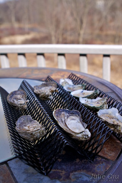 BBQ Oyster Grill Outside